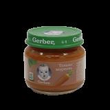 Gerber пюре марковь для детей с 4 месяцев 80 г