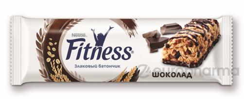 Фитнесс батончик цел.злаки и шоколадный 23,5 г