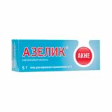 Азелик 15% 5 гр,гель