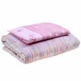 3026 Одеяло+подушка розовое