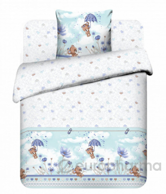 Комплект постельного белья Мишутка
