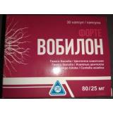 Вобилон форте 80/25 мг, №30,капс