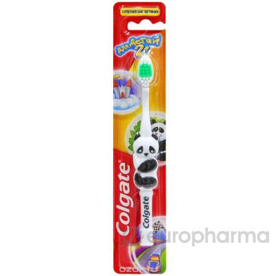 Colgate зубная щетка детская 2+