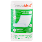 TerezaMed пеленки Normal одноразовые для взрослых и детей 60х90 № 10 шт