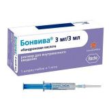 Бонвива 3 мг, 3 мл, №1, амп., в шприцах