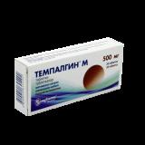 Темпалгин М 500 мг № 20 табл