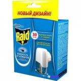 Raid  фумигатор Edie Base + жидкость 30 ночей