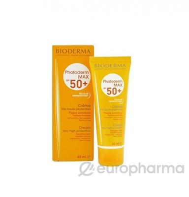 Bioderma крем максимальная защита от солнца для аллергичной кожи и против фотостарения 40 мл