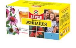 Эхинацея трава 1,5 гр, №20, фито чай