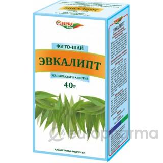 Эвкалипт листья 40 гр, фито чай