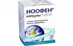 Ноофен 500 мг, №24,