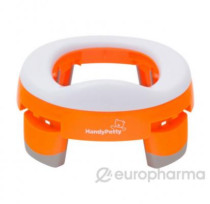 Горшок дорожный в фирменной сумке,цвет оранжевый (арт HP-245R)