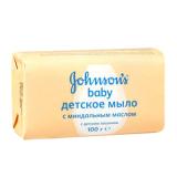 Джонсон беби мыло с миндальным маслом 100 гр
