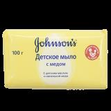 Джонсонс беби мыло с медом 100 гр