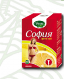 София лимон 2 гр., №30 фито чай для похудения, Белла