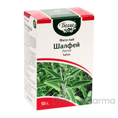 Шалфей фито чай 50гр (Ева фита)