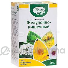Желудочно-кишечный 50 гр, фито чай Белла