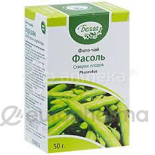 Фасоль створки 50 гр., фито чай, Белла
