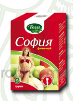 София груша 2 гр., №30 фито чай для похудения, Белла