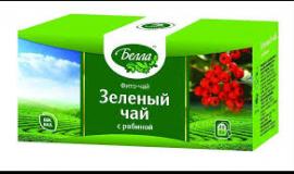 Зеленый чай с рябиной 2 г №20