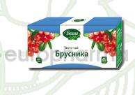 Брусника 1,5 гр, №20, фито чай, Белла