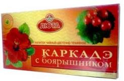 Каркаде с боярышником 2 гр, №20, фито чай