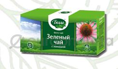 Зеленый с эхинацеей 2 гр, №20, фито чай, Белла