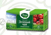 Зеленый с боярышником 2 гр, №20, фито чай, Белла