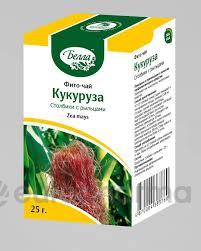 Кукуруза столбики с рыльцами 25 гр, фито чай Белла