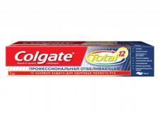 Colgate зубная паста Тотал 12 Профессиональная Отбеливающая 75мл