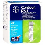 Тест-полоски Contour Plus 25шт.изм.глюкозы в крови
