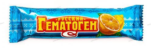 Гематоген с вит С, 40гр СГРК, плитка