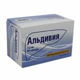 Альдивия 7,5  мг № 60 капс