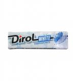 """Dirol White жевательная резинка без сахара """"Перечная мята"""" 13,6 г"""