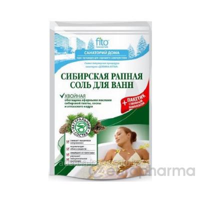 Соль для ванн сибирская рапная,хвойная 530 гр