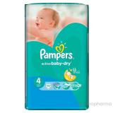 Pampers подгузники Active Bady Dry  (для детей от 7 до 14кг) 12х13