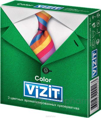 Презерватив Визит №3  с пупырышками (Германия)