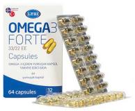 V-Form Омега-3 форте 1000 мг., №60, капс