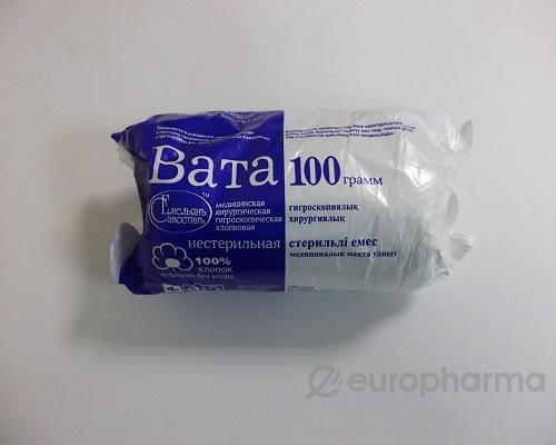 Вата Айболит 100 гр, уп., нестер