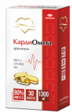Омега-3 90% КардиОмега 1300 мг №30,капс
