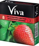 Презерватив Viva №3 цветные