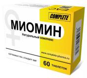 Миомин № 60 табл