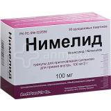 Нимелид 100 мг/2 г №30,пакет