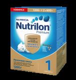 Nutrilon смесь Premium 1 молочная для детей с 0 месяцев 2*600 г