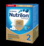 Nutrilon смесь Premium 2 молочная для детей с 6 месяцев 2*600 г