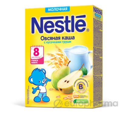 Нестле каша молочная Овсянная с кусочками груши М 220 гр