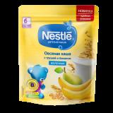 Nestle каша овсяная с грушей и бананом молочная для детей с 6 месяцев 200 г