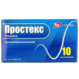 Простекс 30 мг, №10, супп.