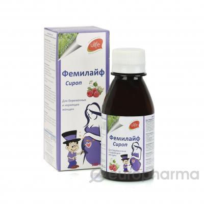 Фемилайф 100мл сироп для беременных и кормящих женщин