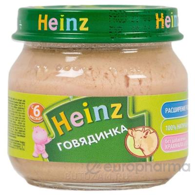 Heinz пюре говядина для детей с 6 месяцев 80 г